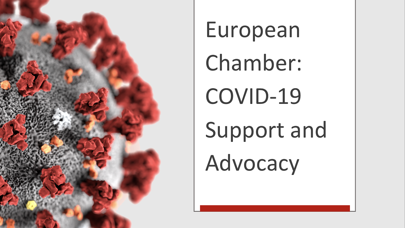 European Chamber's COVID-19 Support and Advocacy
